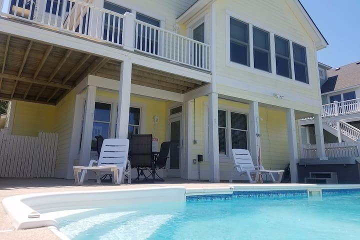Priv. pool, hot tub, gated resort, golf, elevator