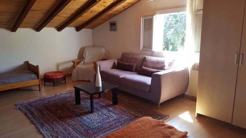 joli F2 dans villa proche Ajaccio - Ajaccio - Apartamento