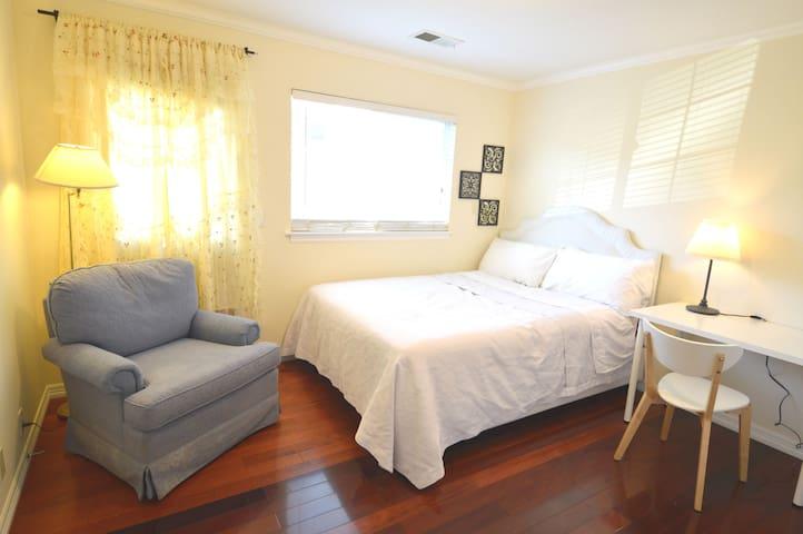 1333D Cozy Private Bedroom with Work Desk near SFO
