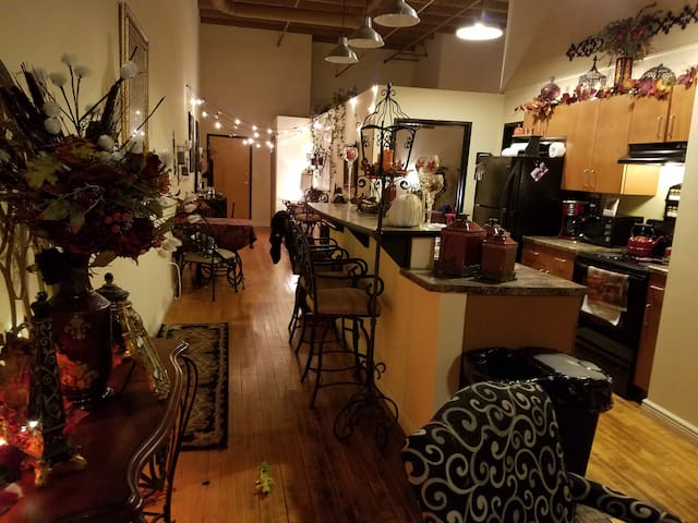 Beautiful Spacious/Cozy Loft Apt-close to ALL!!