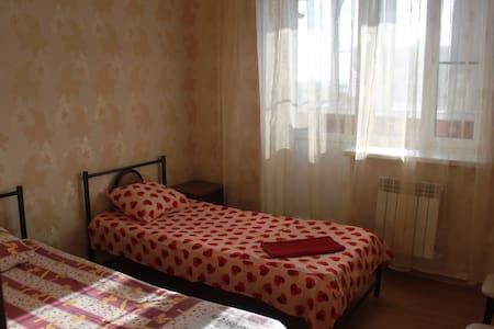 Двухкомнатная квартира с 4 спальными  местами