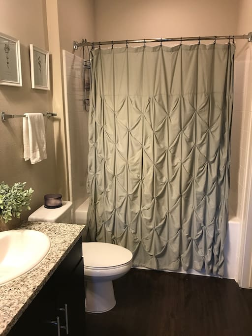 Full Private Bathroom w/ Closet