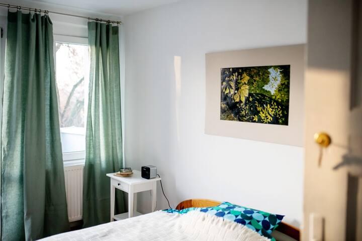Pokój w klimatycznym domu w Wołczkowie