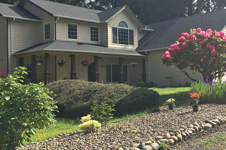 """The Guest House""  South Beach Newport Oregon USA"