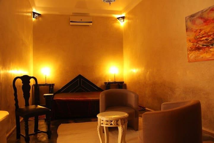 Suite junior 9 patio- Riad Prestige du Souss -