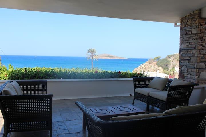 Kalymnos, très belle villa avec vue sur la mer - Kalimnos - Villa