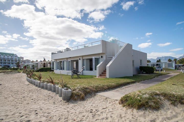 Idyllic beach house with uninterrupted sea views