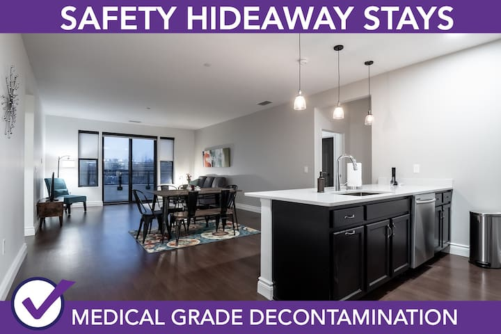 Safety Hideaway - Medical Grade Clean Home 90