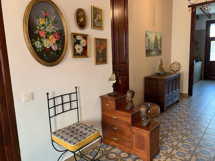Casa mediterranea con fascino