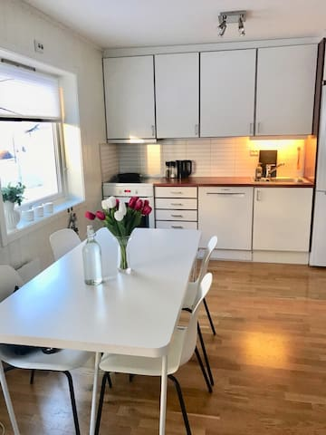 Bright and centrally located 3-bedroom appartment