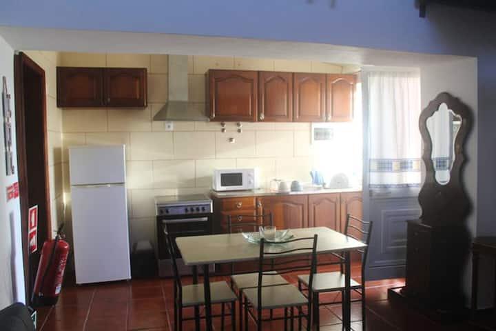 House with 2 bedrooms in São Mateus da Calheta, with wonderful mountain view