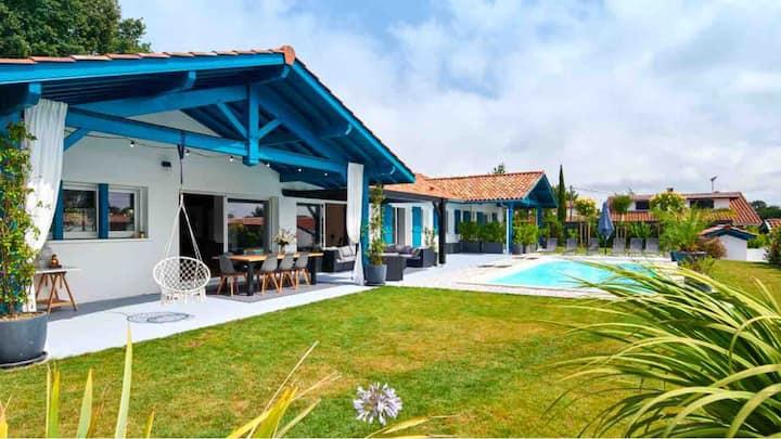 Superbe villa basque à 250 m de Biarritz