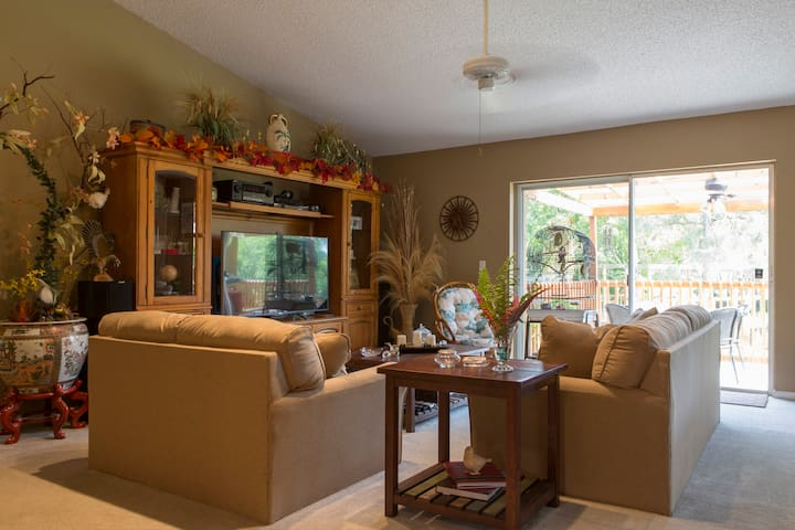 Cozy room in beautiful ranch - West Palm Beach - Haus