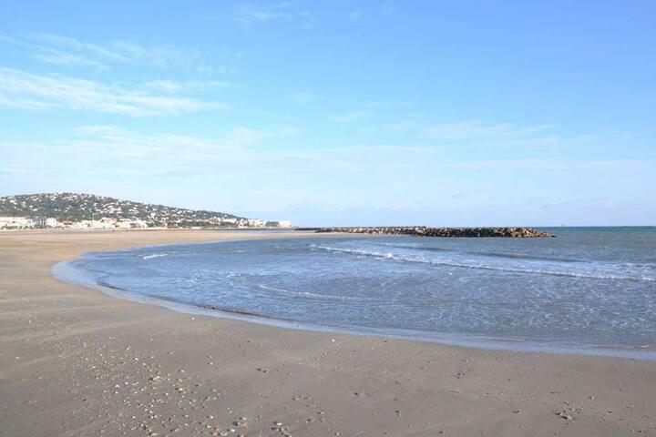 Chambre d'hôtes à Sète à 1 km des plages