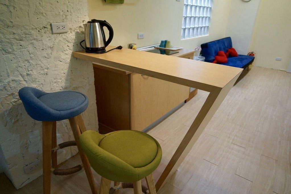 簡易廚房/客廳