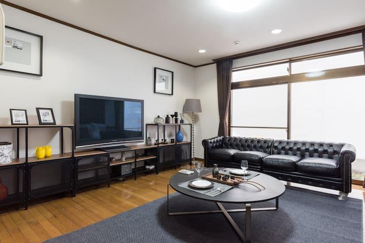 3 Min Roppongi Stn Max 8 ppl Duplex House B24 - Minato-ku - Haus