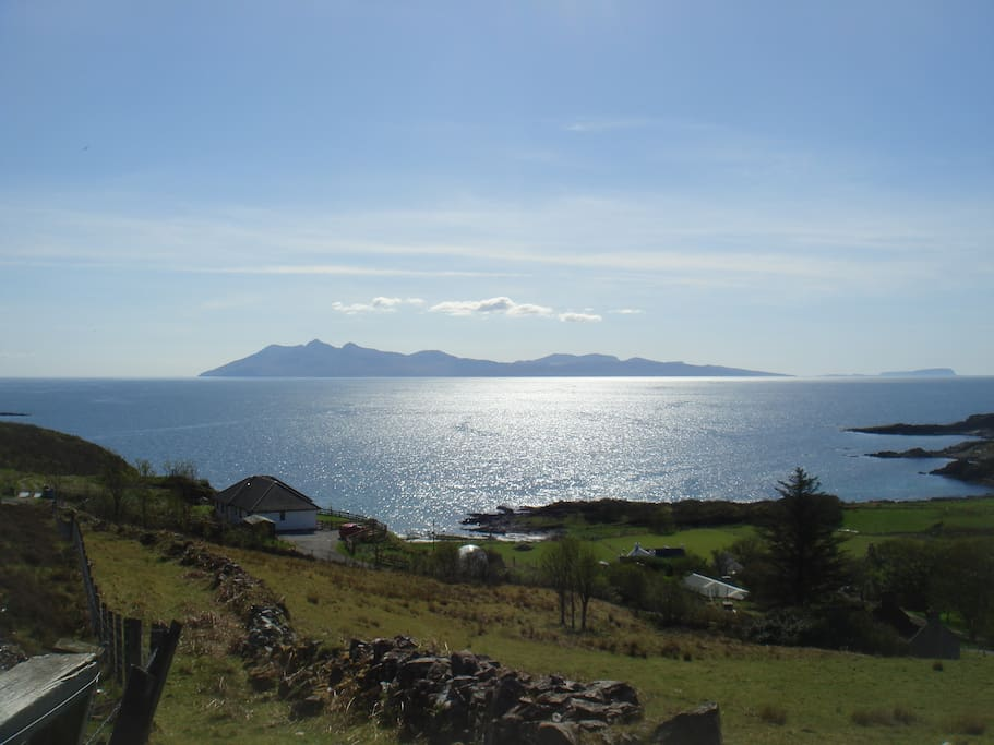 View of the Island of Rum