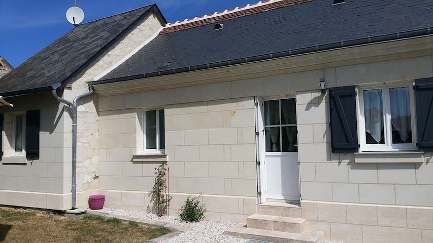 Gîte des hirondelles - Savigny-en-Véron - Rumah