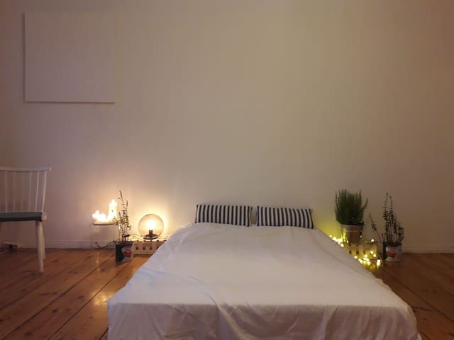 Central Berlin - beautiful spacious room