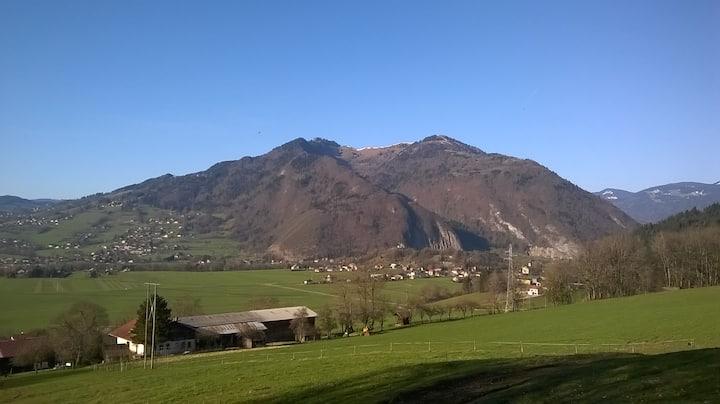 Gîte à la campagne en Haute-Savoie