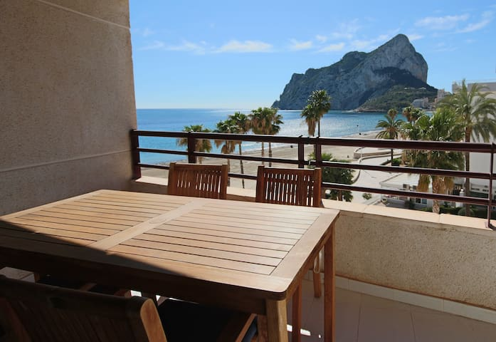 2BD Beachfront - Stunning Sea Views, 2 Pools, Direct Access to the Beach - Calp
