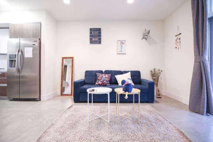 帕萨迪纳摩登1室公寓 近HRC,老城区/带车位