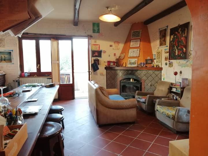 Between Pompei, Sorrento and Positano (wine-Room)