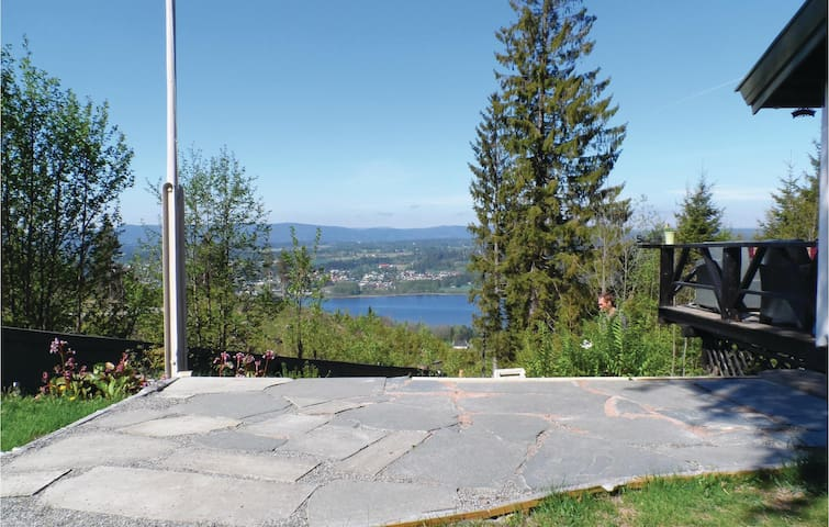 Holiday cottage with 3 bedrooms on 66 m² in Vikersund