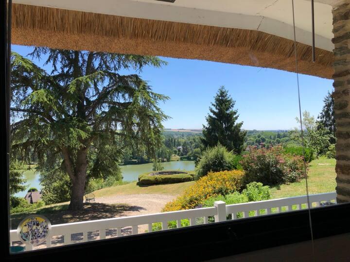 Maison de vacances avec vue proche de Paris