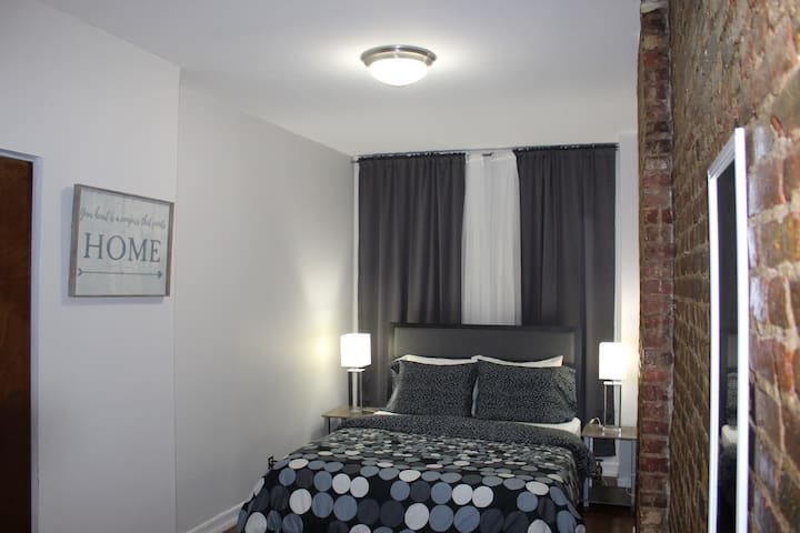 """TIME SQUARE"" 43rd Street Big Bedroom on 1st floor"