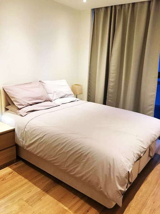 Kingsize luxury bed and mattress from John Lewis