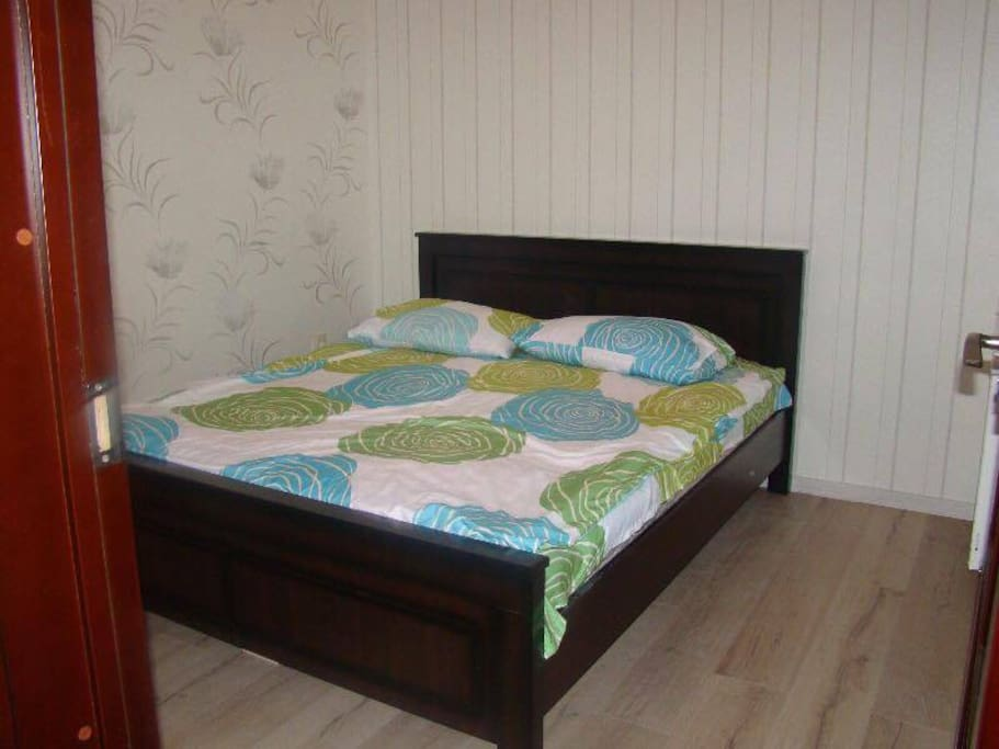 1st Bedroom with double bed