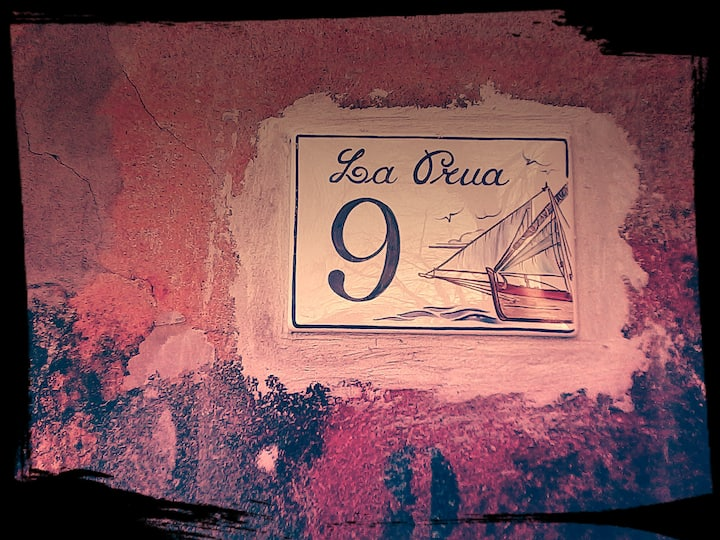 """La Prua"" - like the prore of a ship"
