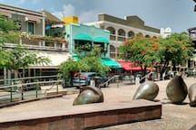 "Have a ""mojito"" on the giant Avocadoes of Plaza del Mercado."
