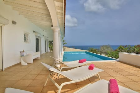 Stunning 5 bedroom villa with 180° ocean view !