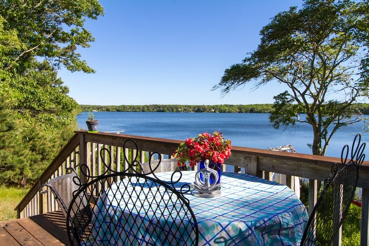 Spectacular cozy lakefront cottage - Harwich - House