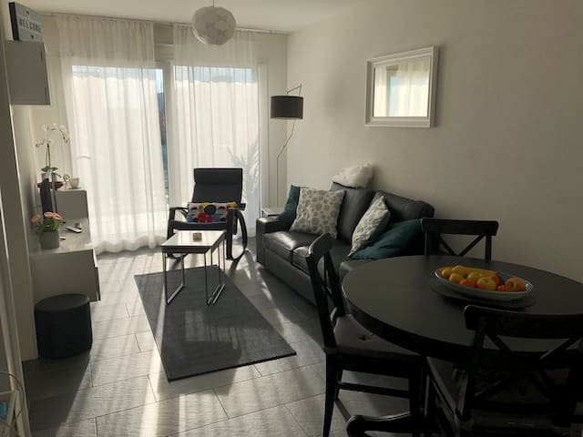 Modern one bedroom apartment in Gland