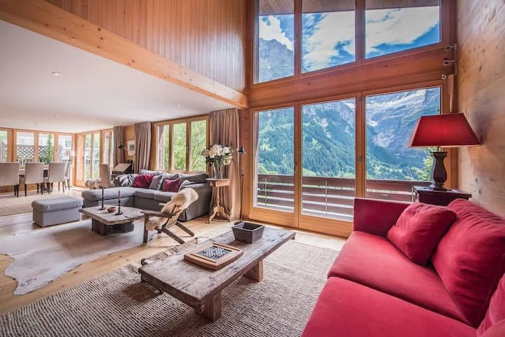 Cozy chalet with mounatin view