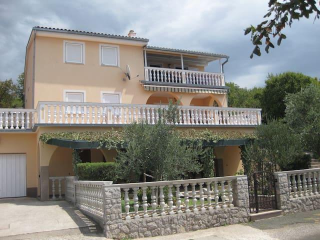 Apartments Klenovica Cvitković 3+1 (42m2)
