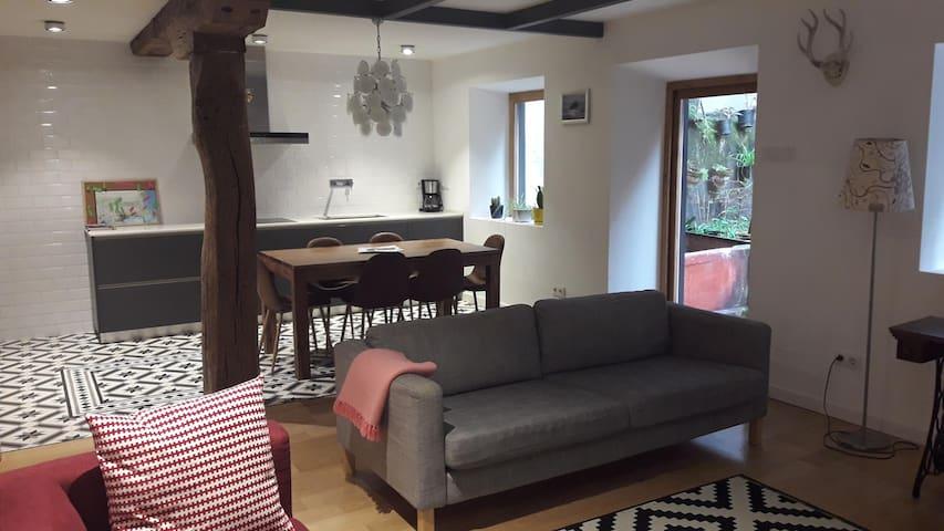 Geweldig en ruim appartement in hartje Santander