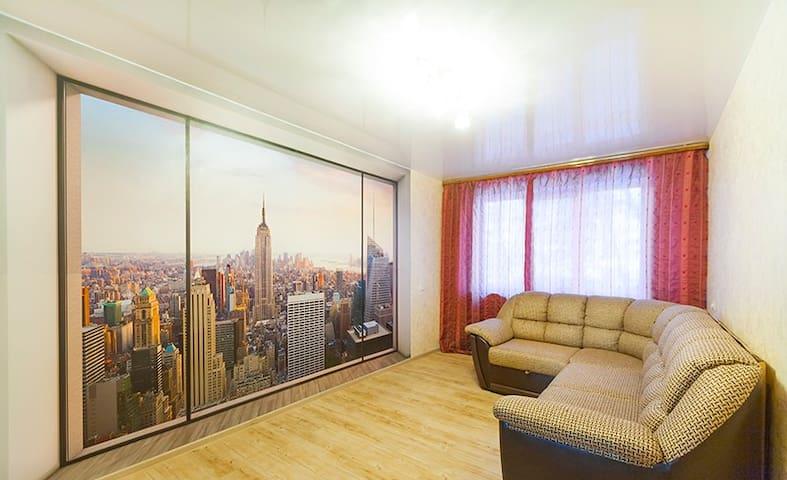 3-к квартира на сутки - Kemerovo - Lejlighed