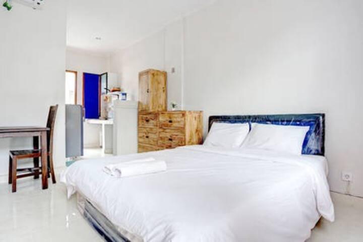 Affordable Studio Apartment in Seminyak