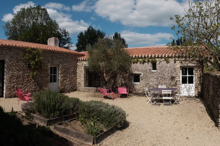 Cottage between Pornic and Noirmoutier - Machecoul - Casa