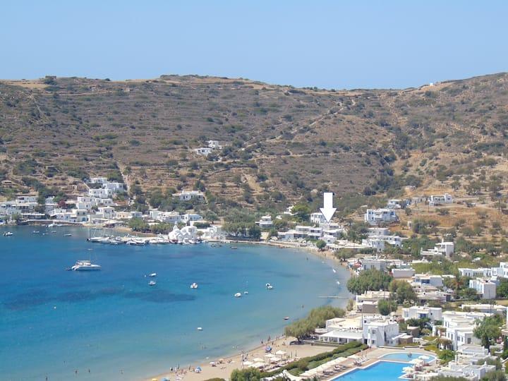 George's Seaside Apartment Sifnos - Vathi beach