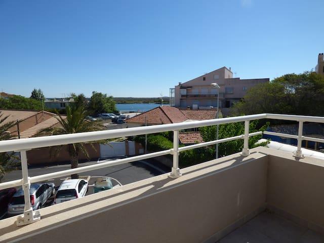 Appartement spacieux Valras côté port - Valras-Plage - Apartment