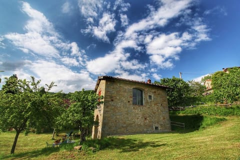Romantic detached house x2 for holidays with view