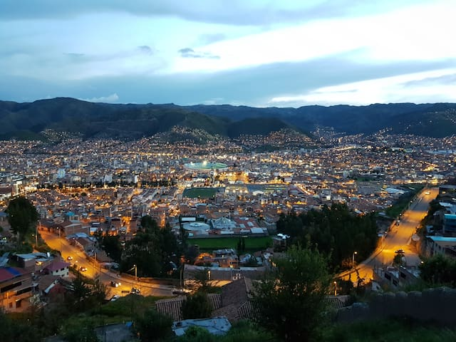 Nice view of Cusco