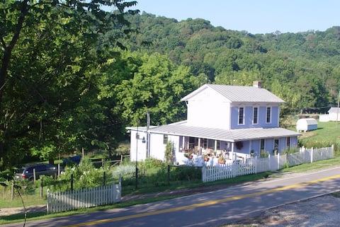The Farmhouse at Rising Moon Farm