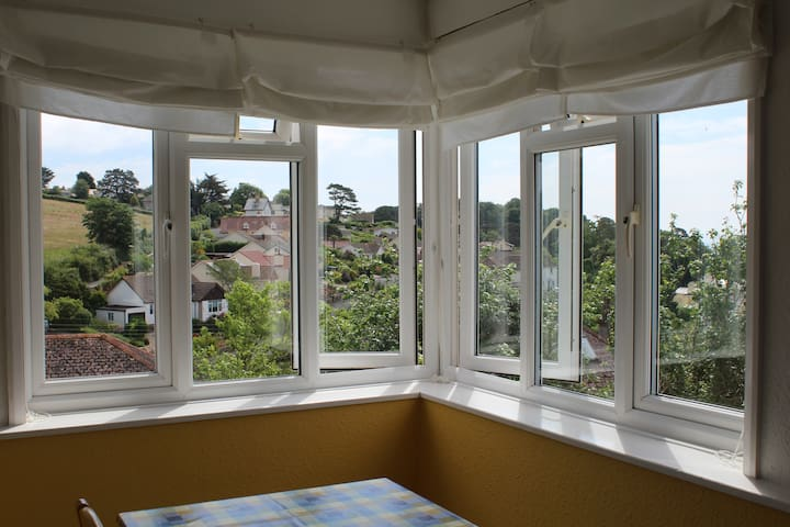 Self contained Apt with sea views - Devon - Apartamento