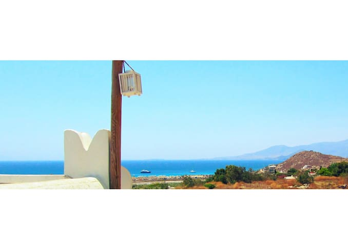 'Emery' Summer Balcony Studio - Naxos - Ev